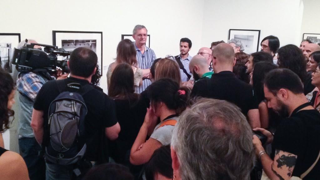 Visita guiada de Martin Parr. Foto Natalia De León